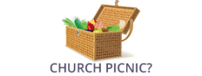 church picnic | picnic basket