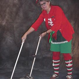Helda, The North Pole Cleaning Lady
